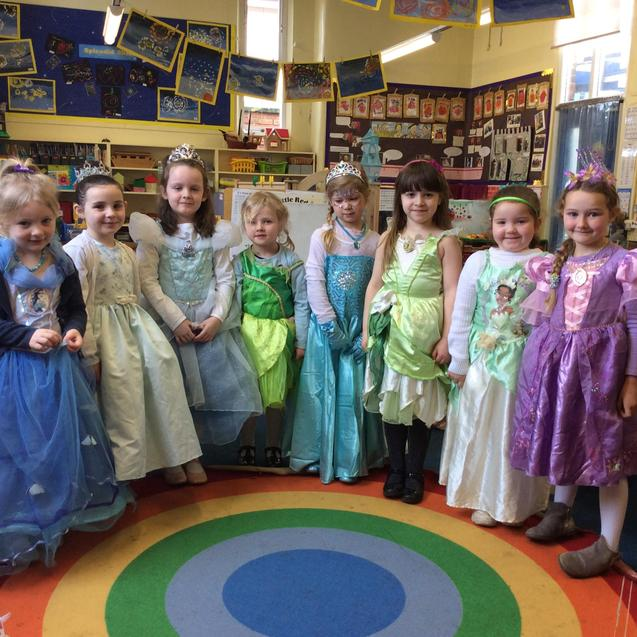 Dressing up as Fairytale Princesses