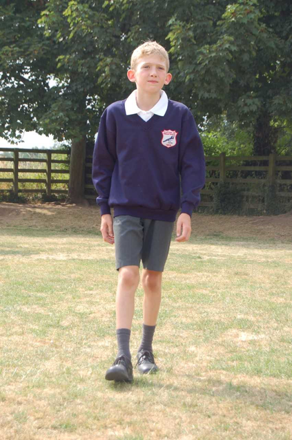 Uniform example for Reception and Year 1