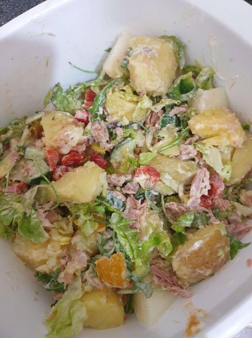 Potato Salad - Nura Y4 & Maria Y1