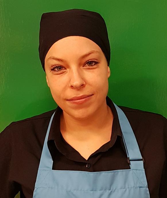 Ms E Hudson - Kitchen Staff