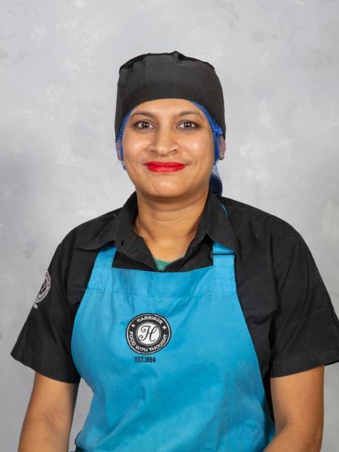 Mrs N Chauhan - Kitchen Staff