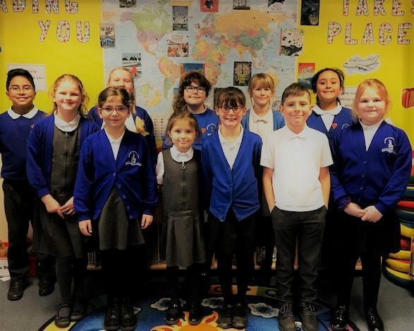 Our elected Key Stage 2 School Council