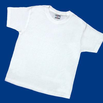 PE    Round neck t-shirt WHITE
