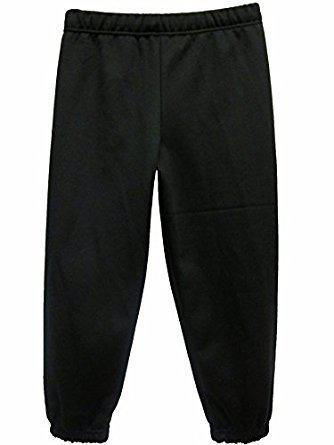 PE     Girls' and Boys' joggers  BLACK