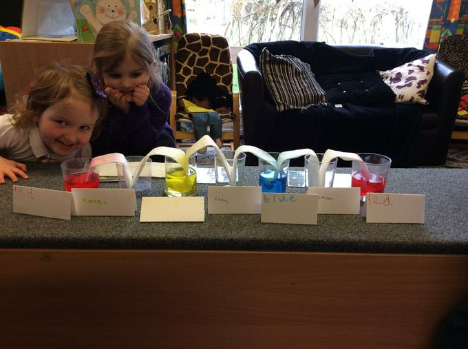 Our rainbow investigation.