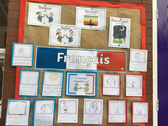 School French Display Autumn 1