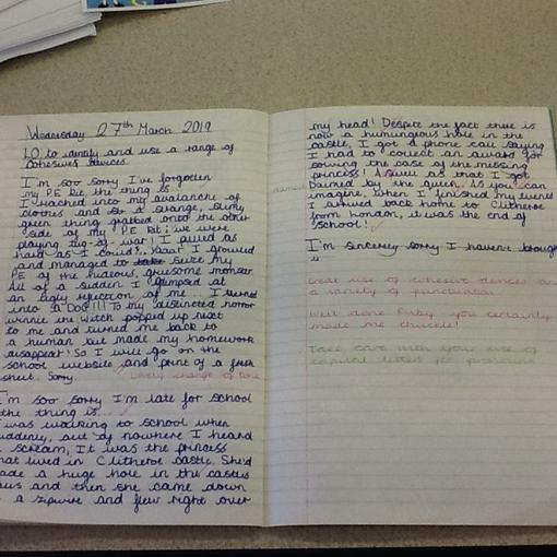 Ruby's humorous explanations
