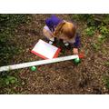 We measured the length of a broken bridge.