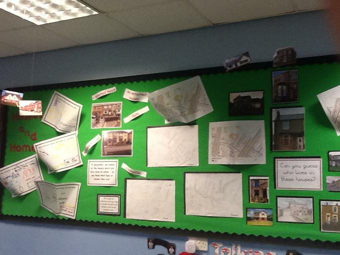Our geography display!