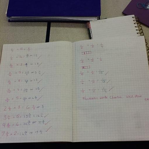 Charlie's magical maths