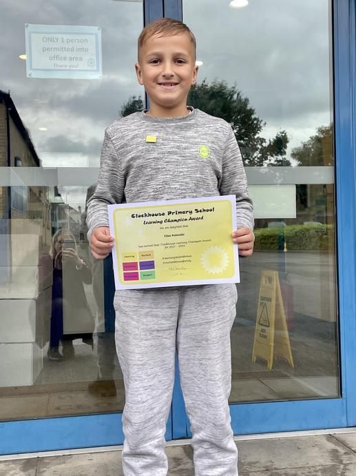 Ellas R (India) Learning Champion Award