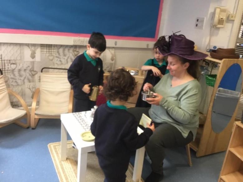 Tea with Mrs Scott!