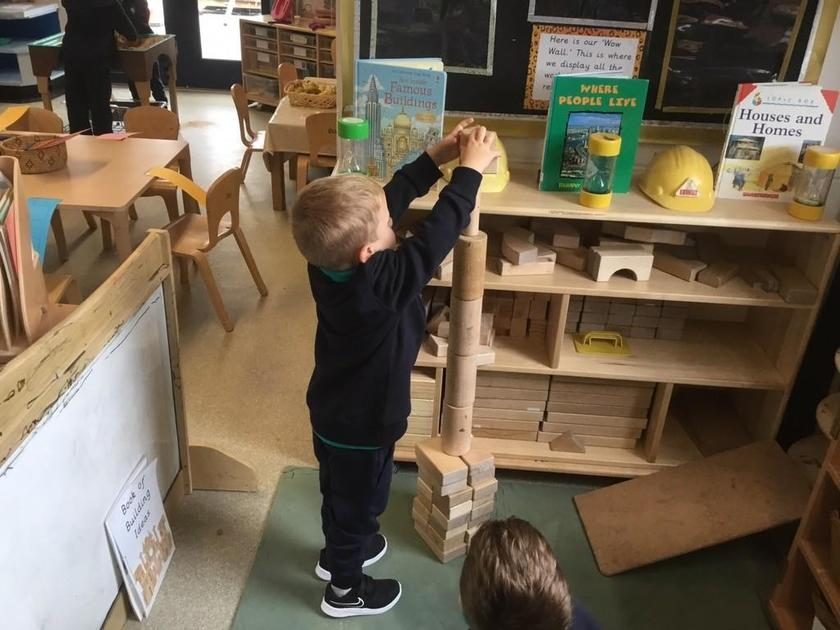 Building different structures-bigger than ourselves!