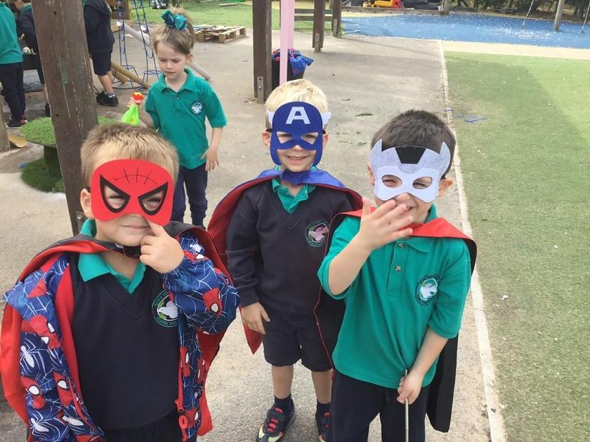 Watch out for the Superheroes!