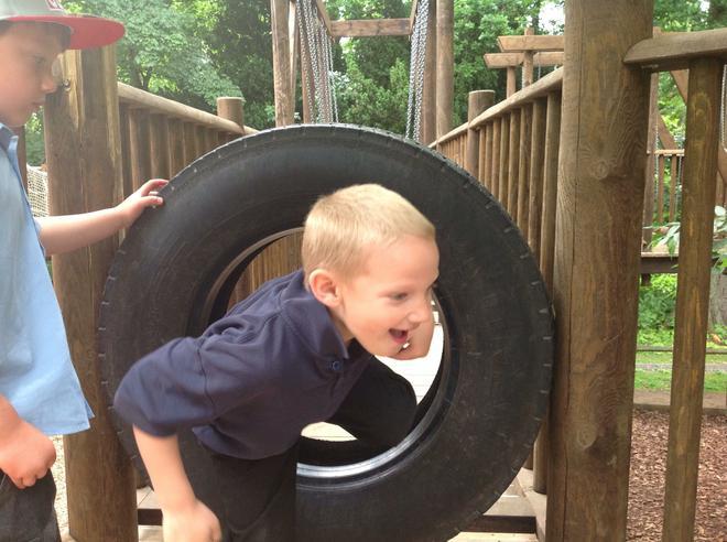 Through the tyre