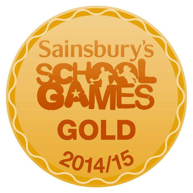 Sainsbury's School Games Kitemark - Gold Award! 1