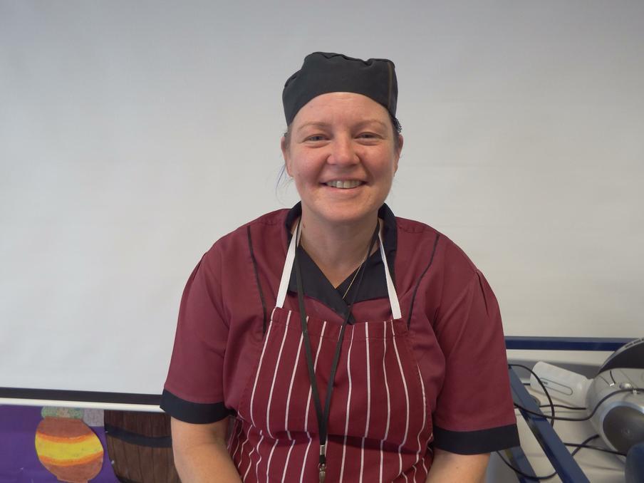 Mrs R Bonney; School Cook