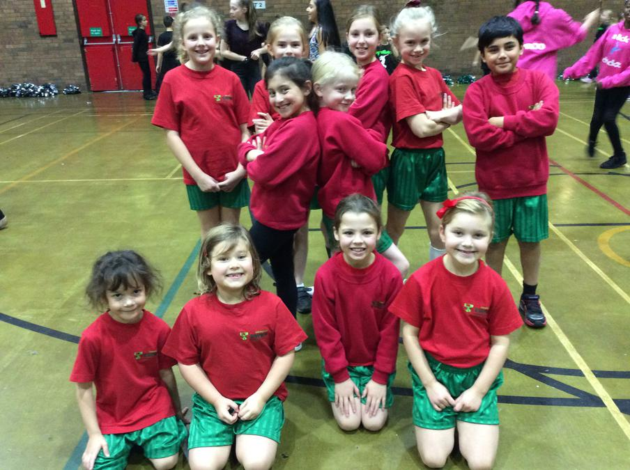 Cloverlea's Dance Group - Trafford Winter Dance Festival Dec 2015 1