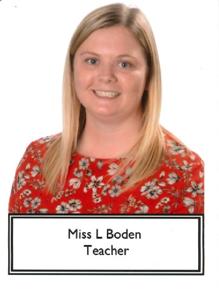 Miss L Boden - Year 6 Teacher