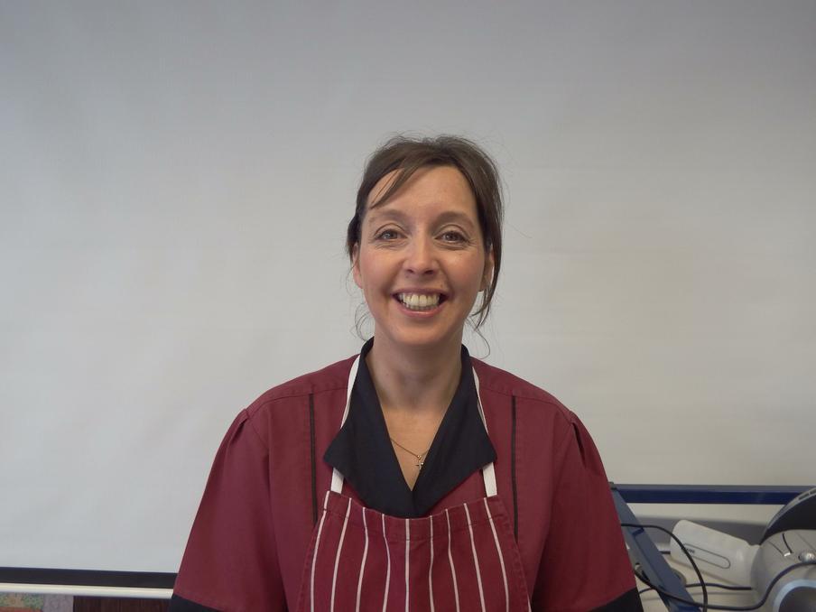 Mrs J Parsonage; Assistant School Cook