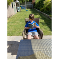 Enjoying a Book in the Sun