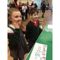 Year 3 having fun at the Year 6 Science Fair