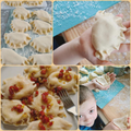 Potato, cheese and onion stuffed dumplings