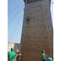 outdoor climbing - high adrenaline