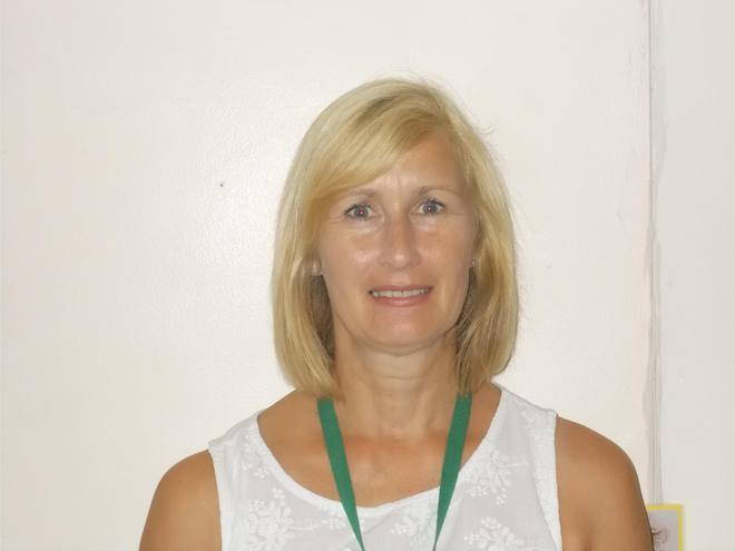 Mrs Sue Johnson.  Level 3 CACHE