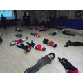 Y1 Fire safety-drop and roll!