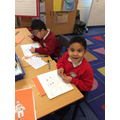 Dividing numbers into quarters