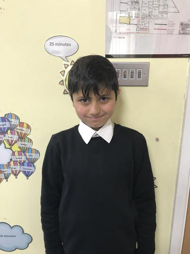Congratulations to Class 9's 'Star of the Week!'