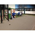 Problems were hidden around the playground