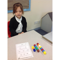 Ordering numbers from smallest to greatest.