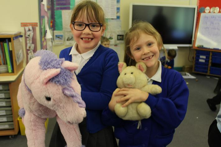 Play with our teddies