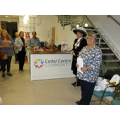 The High Sheriff and Mrs Mary Lewis, Surrey County Councillor, at a launch event for volunteers on 23 September 2015