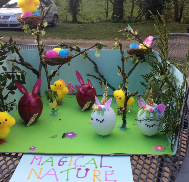 Easter garden by Year 4