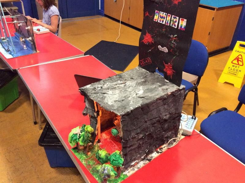 "Stonework inspired by Alton Towers' ""THIRTEEN"""