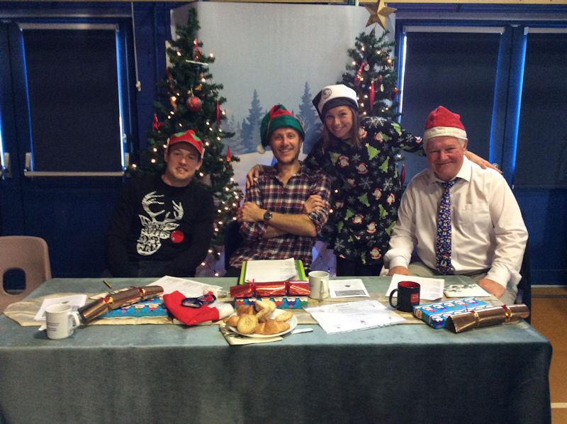 Judges - The Three Chrisses - with Mrs Goodburn.