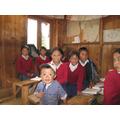 Sanogumela schoolchildren