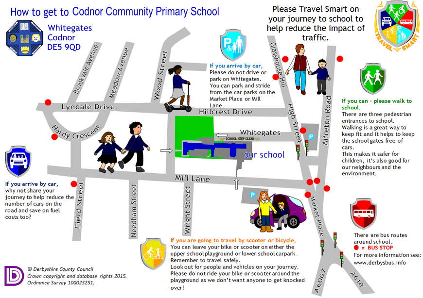 Travel Smart to Codnor Community Primary School