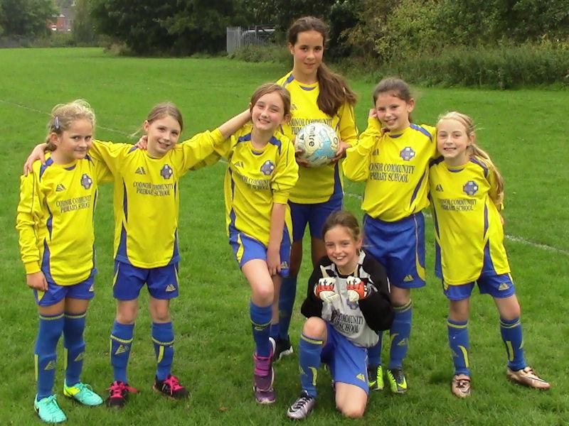 ...or our girls' football team!