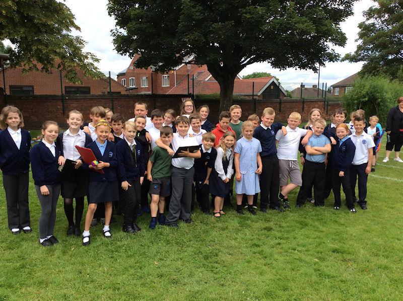 Y5 children designed and ran KS1 activities.