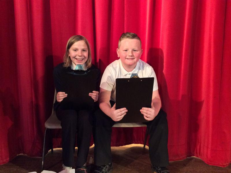 Y6 children introduce each of the performers.
