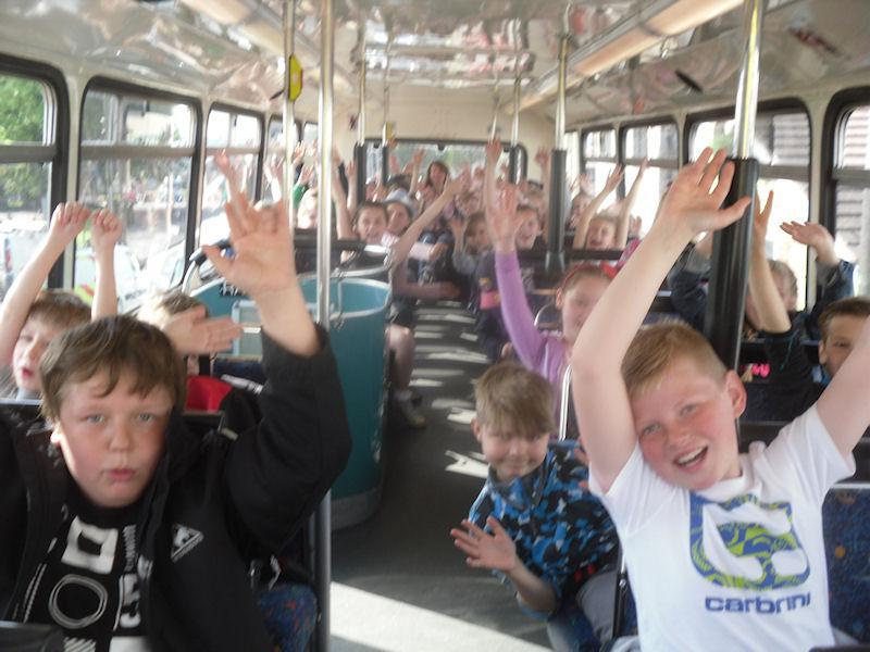 We wave goodbye to Codnor for the day.