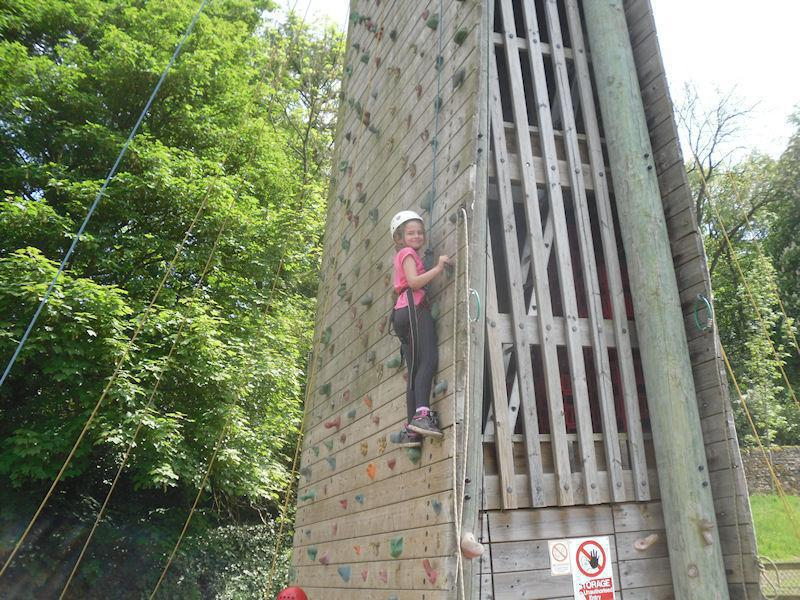 Go up the wall at Lea Green