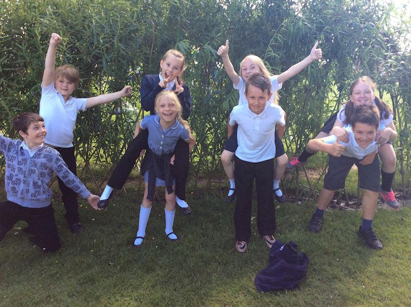 Y4 children were a massive help to EYFS.