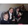 More of our choir enjoying their tea!