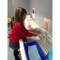 Perfect handwashing!