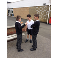 Y5 enjoying playtime in their bubble.